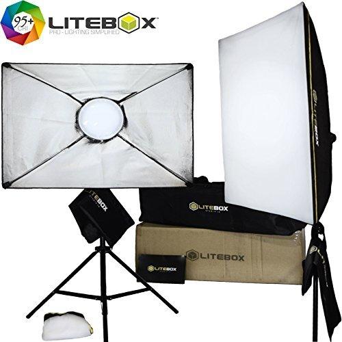 snagshout photography lighting kit 5500k led