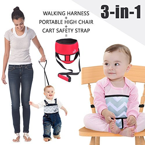 Snagshout | Umin 3-in-1 High Chair Belt,Toddler Safety Walking ...