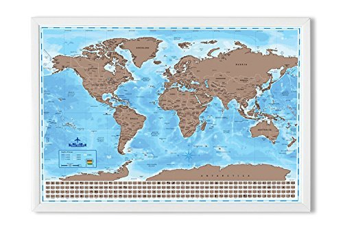 Snagshout wonderful maps scratch off world map with country wonderful maps scratch off world map with country flags us states australian states and gumiabroncs Choice Image
