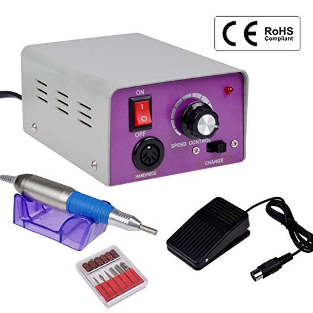 Snagshout | CO-Z Professional Electric Nail Drill Machine Kit for ...