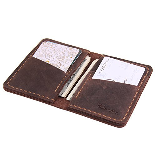 Snagshout | Robrasim Handmade Bifold Leather Wallet ...