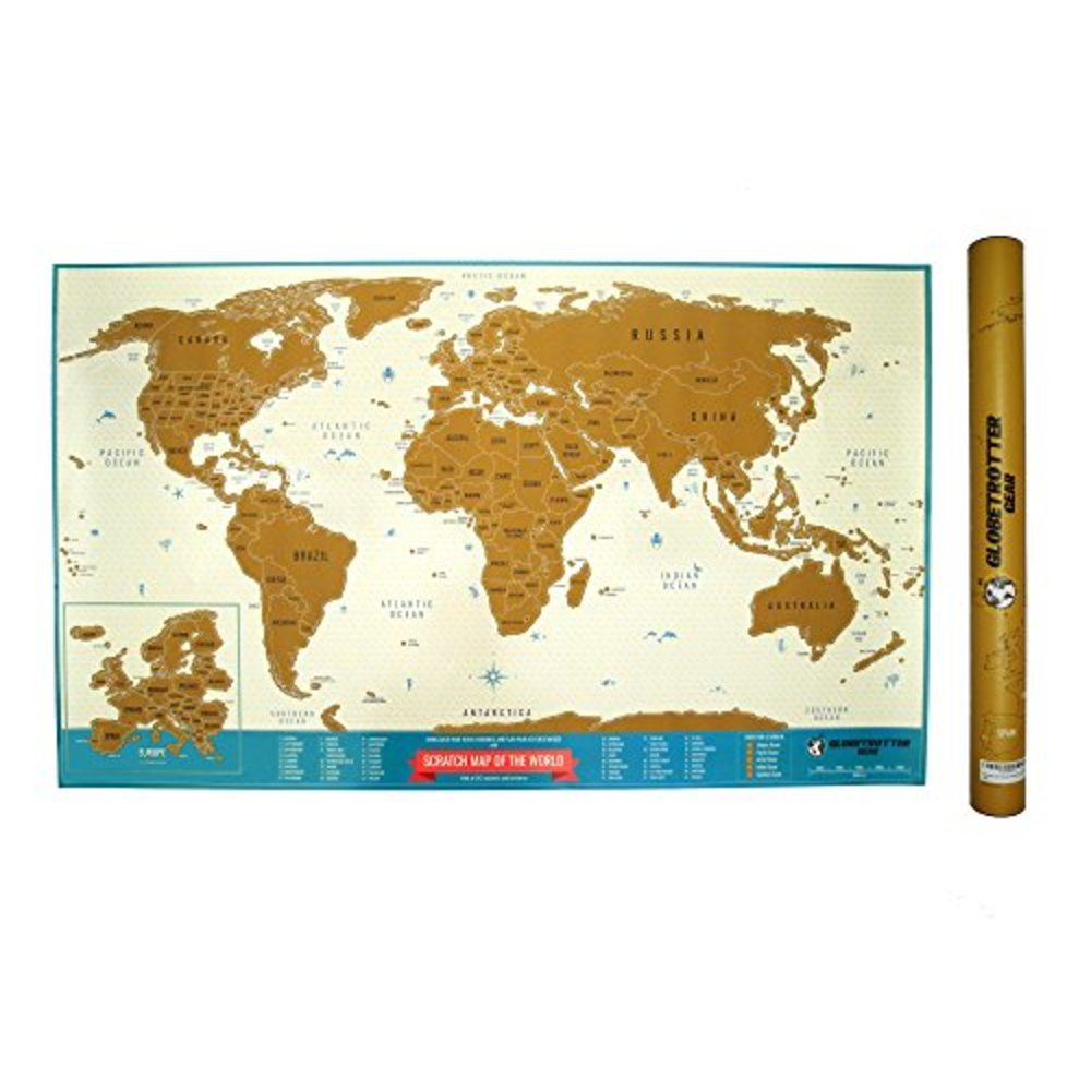 Snagshout scratch off world map travel tracker globetrotter gear scratch off world map travel tracker trip planner log wall poster print gumiabroncs Image collections