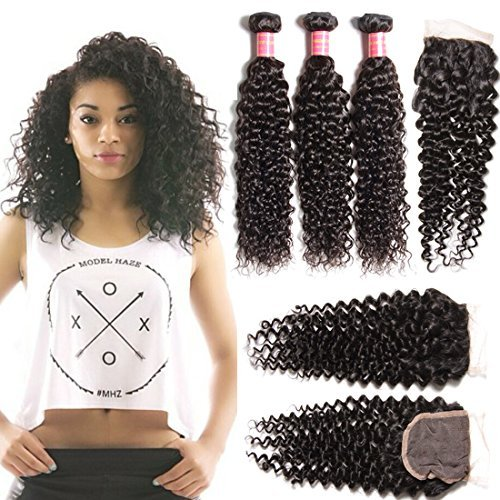 Snagshout jolia hair virgin brazilian curly hair weave 3 bundles jolia hair virgin brazilian curly hair weave 3 bundles with 1 pieces 44 top pmusecretfo Gallery
