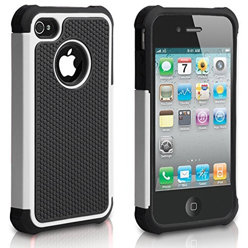 IPhone 5C Hard Shell Case, Durable, Dual Layer, Hybrid, Rugged, Silicone