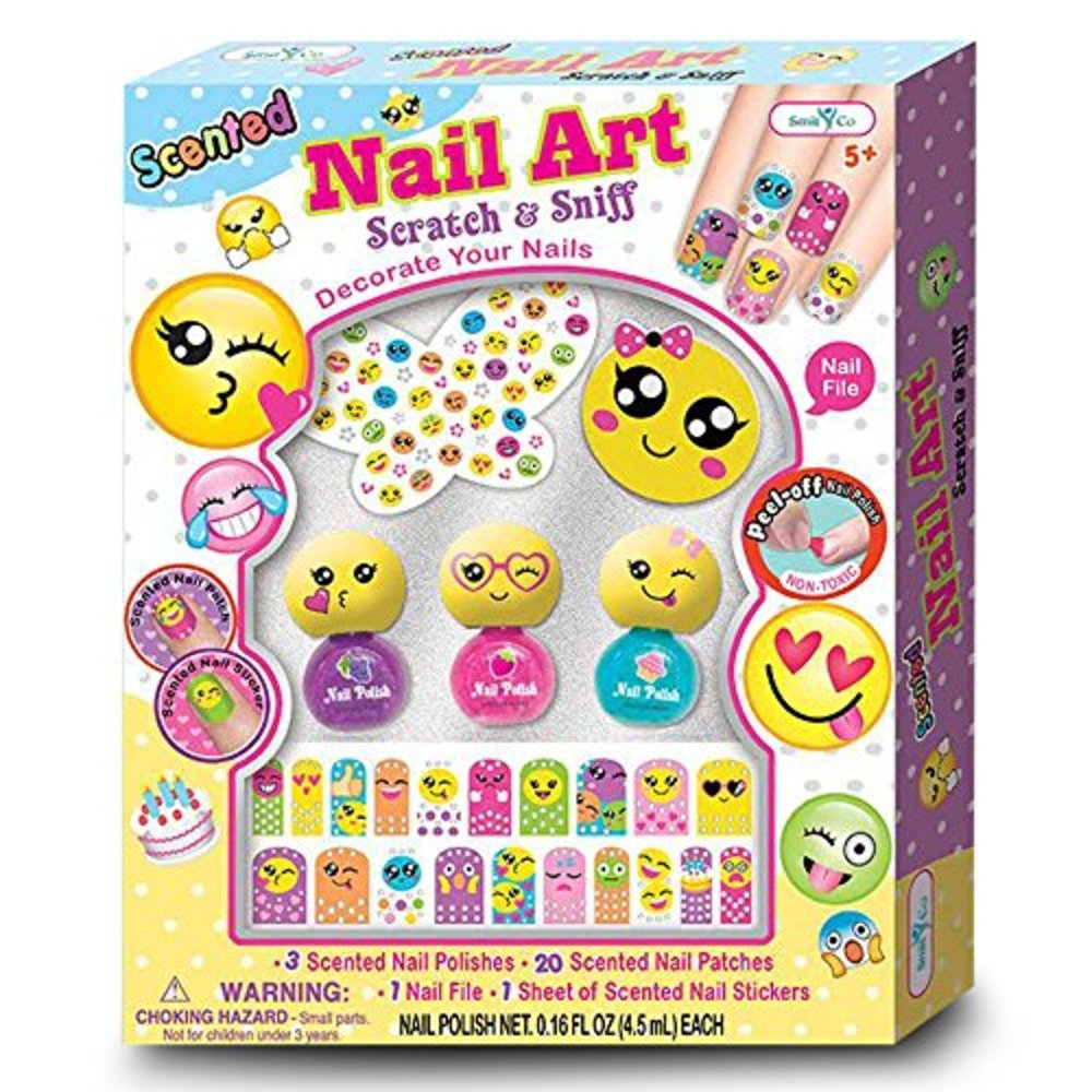 Snagshout | SmitCo LLC Non Toxic Emoji Nail Kit For Girls