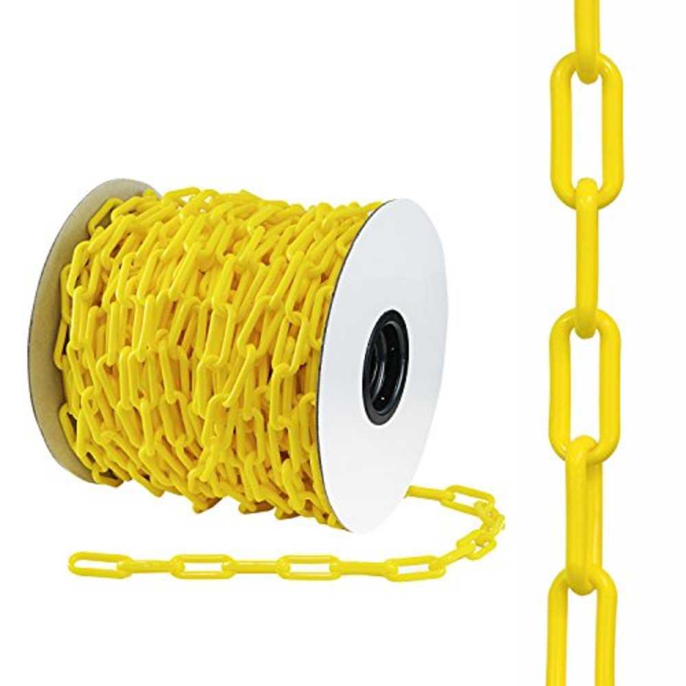 links offers foot yellow chains ye houseables chain snagshout safety barrier quot plastic
