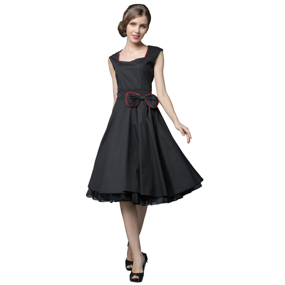 Snagshout | YACUN 1950s Vintage Rockabilly Cocktail Dress