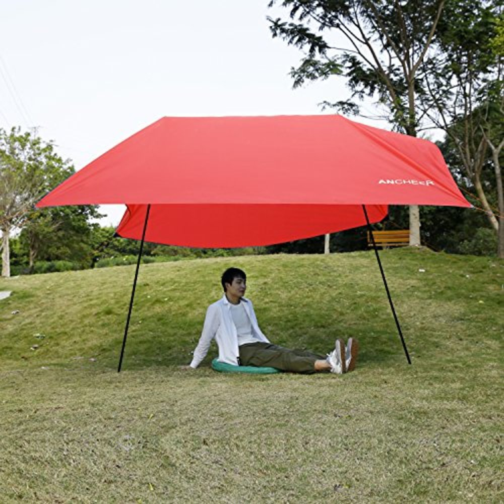 Ancheer Beach Tent Portable Canopy SunShade Sun Shelter 3 x 3m & Snagshout | Ancheer Beach Tent Portable Canopy SunShade Sun ...