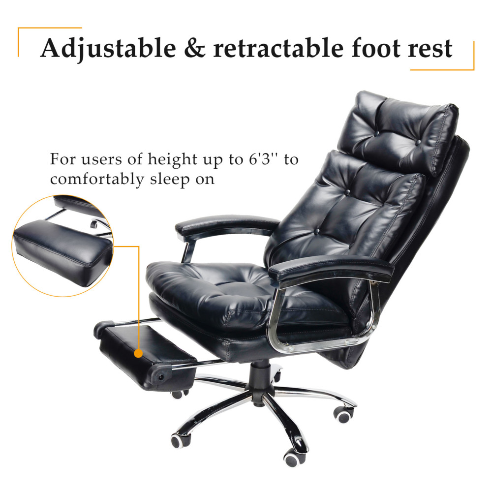 amazon kitchen massage chair co w reclining leather back point swivel uk desk computer home office recliner high rio dp cream