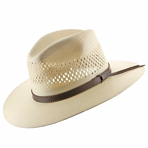 Stetson Digger Vented Straw Outback Hat aa83c220168