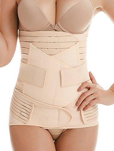 728c468582 DILANNI 3 in 1 Postpartum Support Girdle Recovery Belly Wrap Waist Pelvis Postnatal  Belt Body Shaper