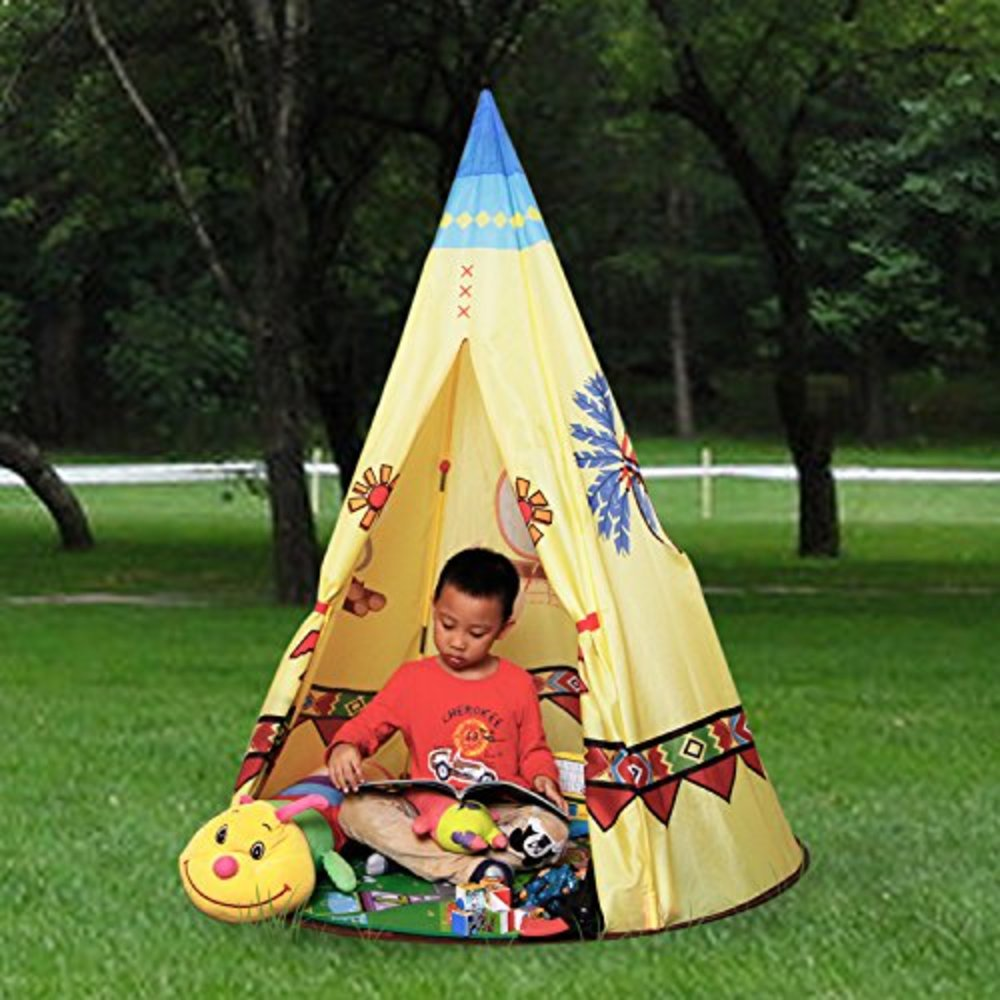 Play Tent For Kids Castle Teepee Playhouse For Children Perfect Gift for Any Child & Snagshout | Play Tent Kids Castle Teepee Playhouse Kid Tipi