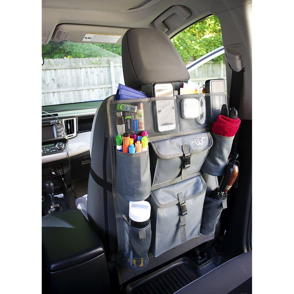 FinWings Car Seat Back Organizer Envoy Light