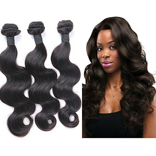 Snagshout Fabwigs Hair 3 Bundles Brazilian Body Wave Virgin Hair